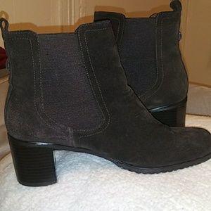 Markon dark brown leather boots